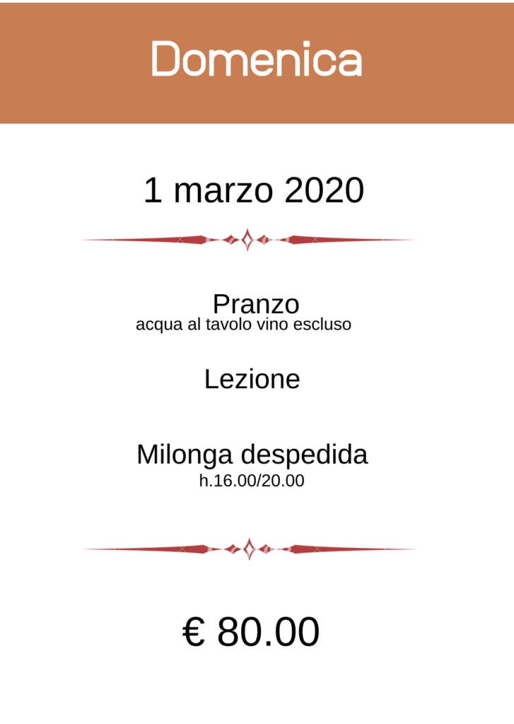 BergamoFestango - pacchetto Domenica